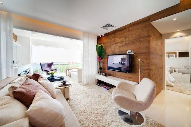 Como escolher o tapete da sala 50 fotos e exemplos for Tapetes para sala de estar 150x200