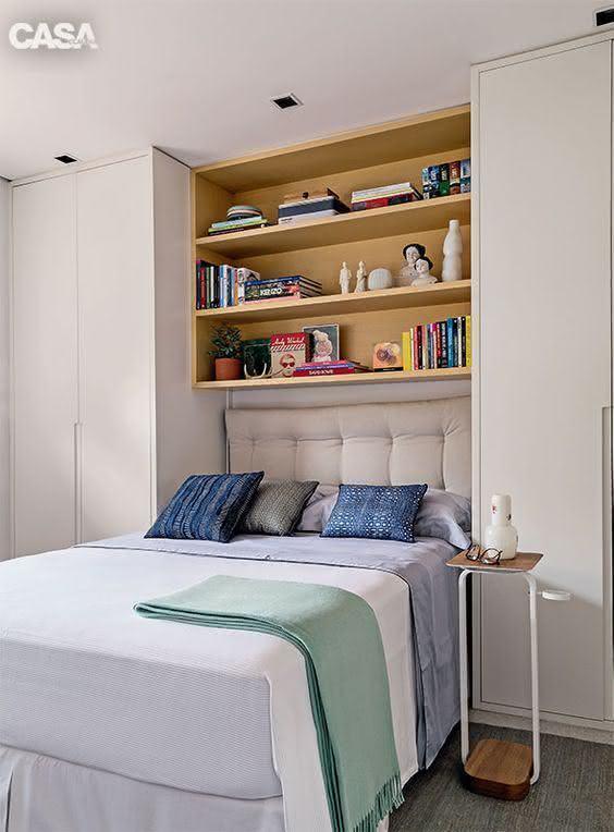 Proposta de quarto pequeno e aconchegante!
