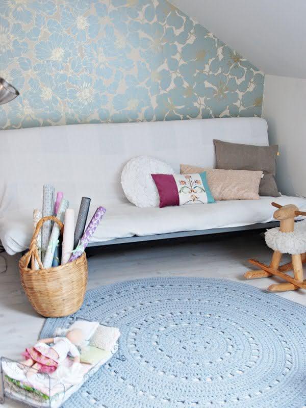 Tapete de crochê como item de decoração que faz toda a diferença