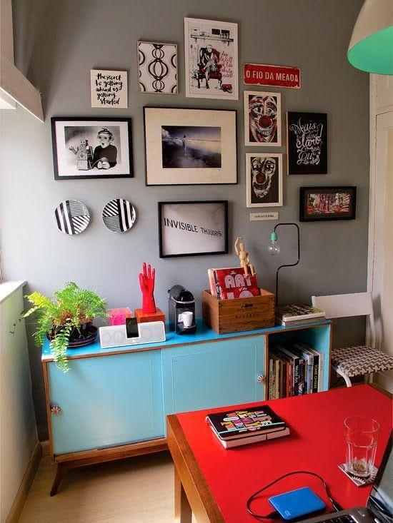 Decoracao De Sala Retro ~ Imagem 11 – Decoração para sala de estar integrada