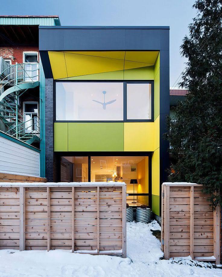 Casas pintadas e coloridas: veja 50 fotos para você se inspirar