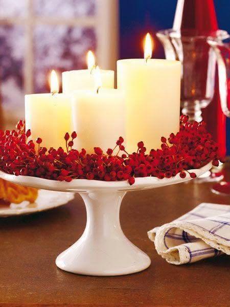 50 Ideias Para Decorao De Mesa Natal Inspiradoras