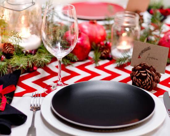 Decoração para mesa de Natal: conheça 75 ideias para decorar em 2019