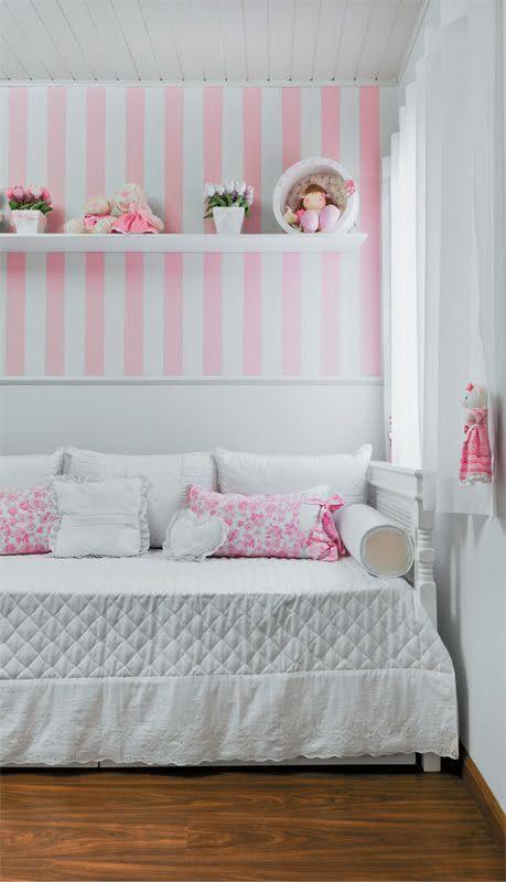 50 Cortinas para Quartos de Bebês Modelos e Fotos ~ Quarto Pintado Branco Gelo