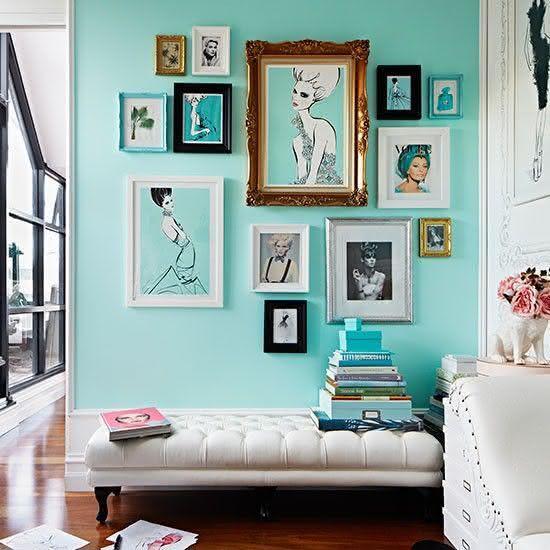 Decoracao De Sala Retro ~ Imagem 8 – Decoração para sala de estar