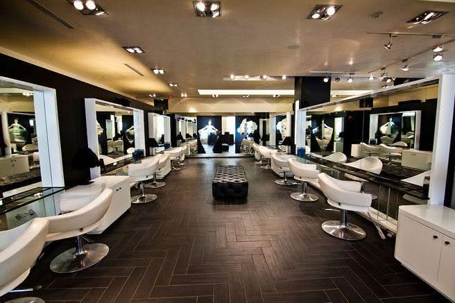 unique modern salon - photo #30