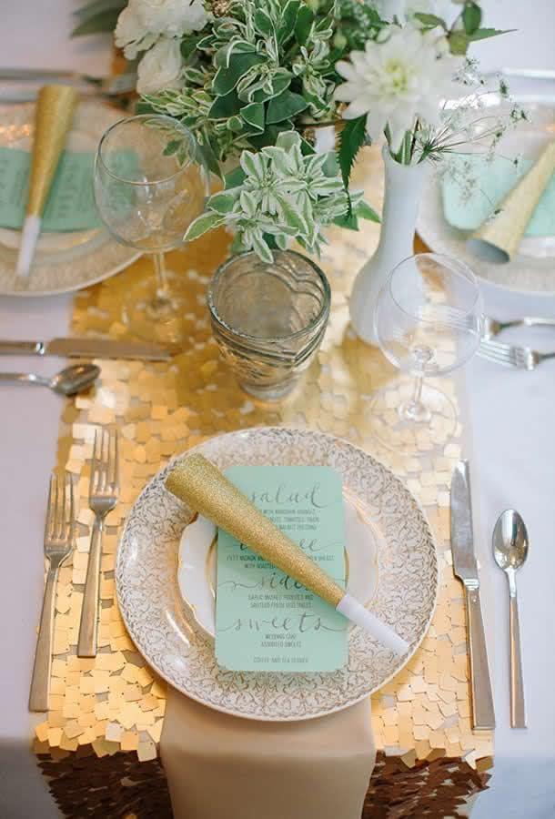 Como organizar a mesa de jantar no Reveillon