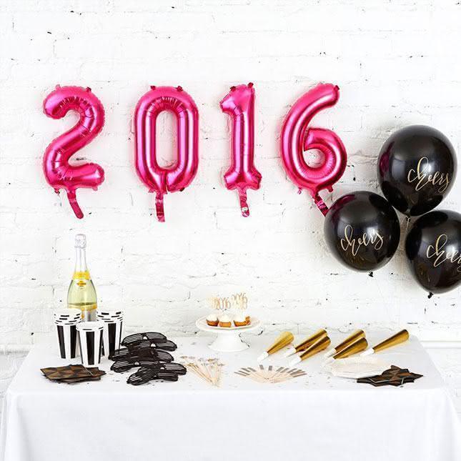 Faça um balão personalizado para a festa de Reveillon