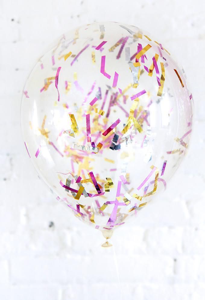 Balão personalizado para o Reveillon