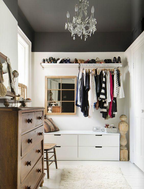 Transforme seu closet em um cantinho aconchegante!