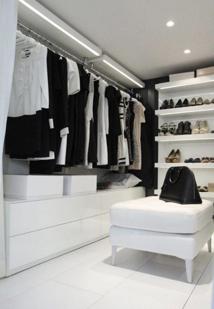 Closet clean.