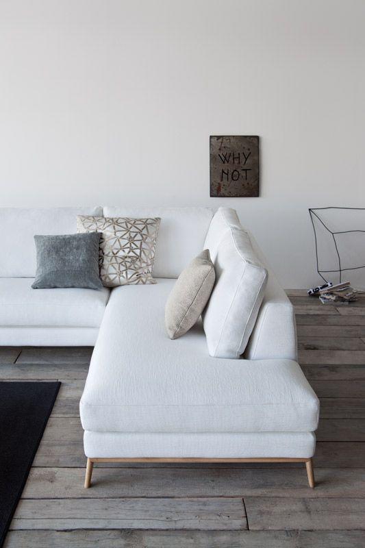 Para um estilo minimalista o branco sempre é o escolhido.