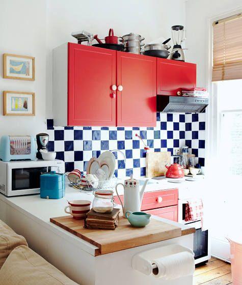 Para uma cozinha com estilo retrô