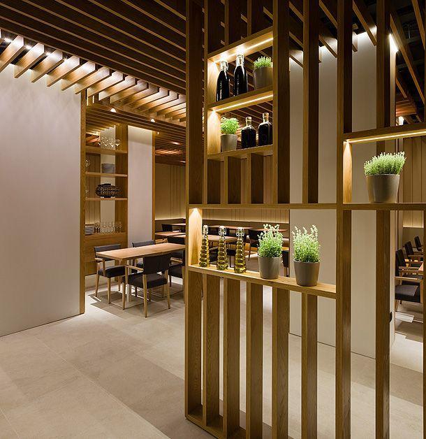 80 divis rias de ambientes vazadas inspiradoras - Biombos para separar ambientes ...