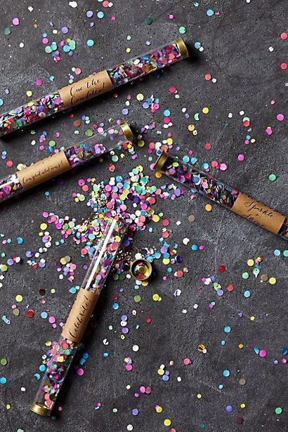 Porta confete personalizado para festa de Reveillon