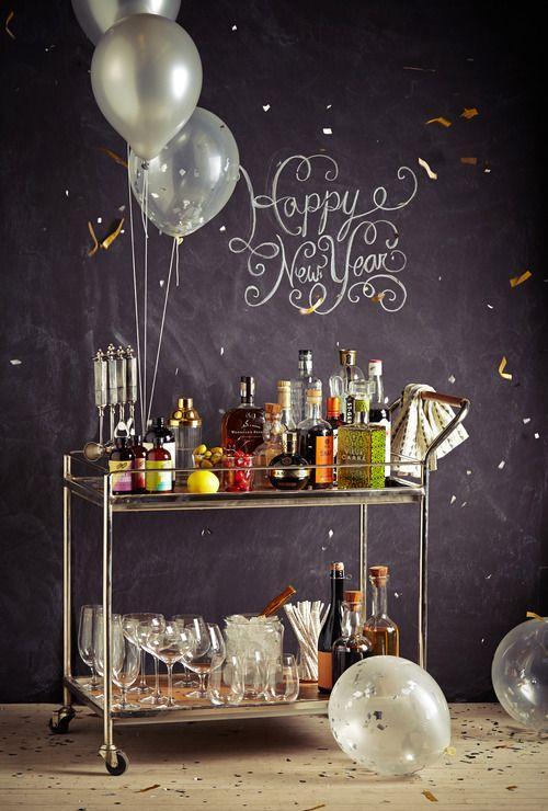 decoracao festa reveillon:50 Ideias de Decoração para Festa de Reveillon Inspiradoras