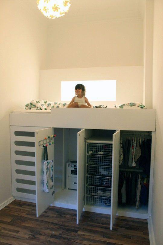 Ideia perfeita para organizar as roupas do seu filho.