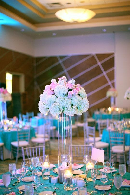 decoracao para casamento azul marinho e amarelo:50 Ideias de Decoração de Casamento em tons de Azul