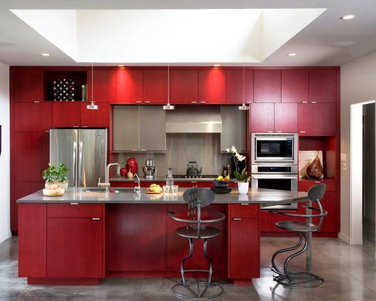 Cozinhas vermelhas: veja 65 ideias e projetos com a cor