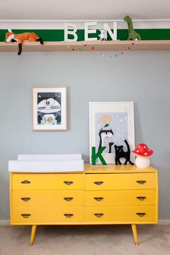 50 c modas infantis inspiradoras para sua decora o for Comodas pequenas