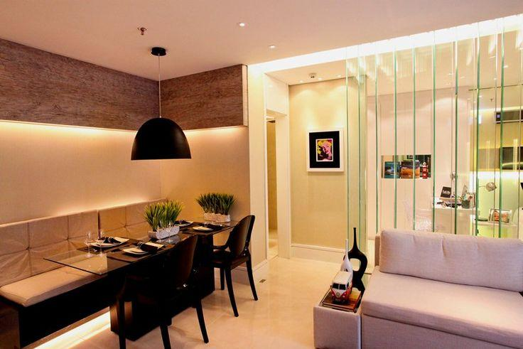 80 divis rias de ambientes vazadas inspiradoras for Mesas para apartamentos pequenos