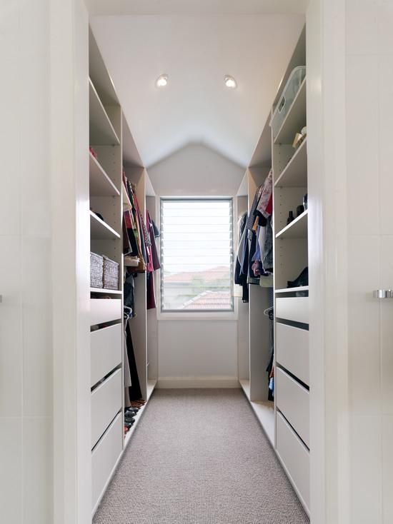 85 closets pequenos inspiradores solu es e ideias for Walking closet modelo