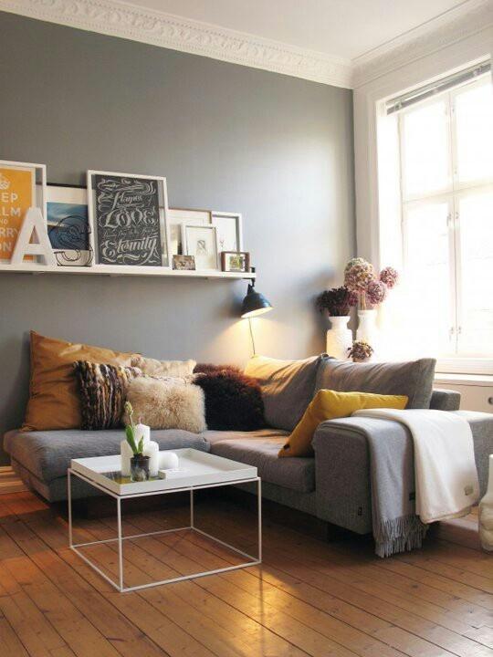 Se quiser um ambiente neutro, escolha cores suaves que sempre dará um ótimo resultado.