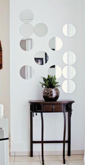Aparador Barato Vintage ~ 50 Aparadores com Espelho na Parede para se Inspirar