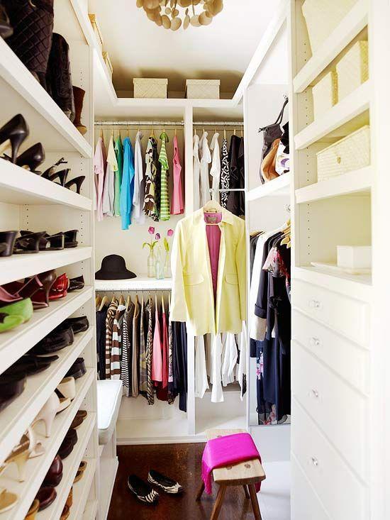 85 Closets Pequenos Inspiradores Solues E Ideias