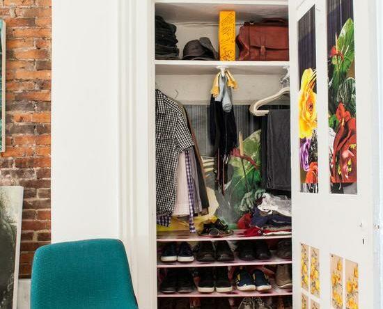 Closets pequenos inspiradores