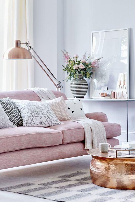 85 ideias de cores para sala de estar fotos lindas for Salas alargadas