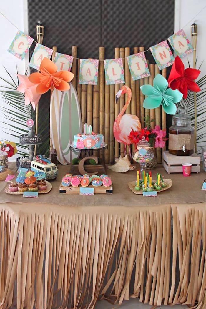 70 Ideias De Decoração Para Festa Havaiana Incrível