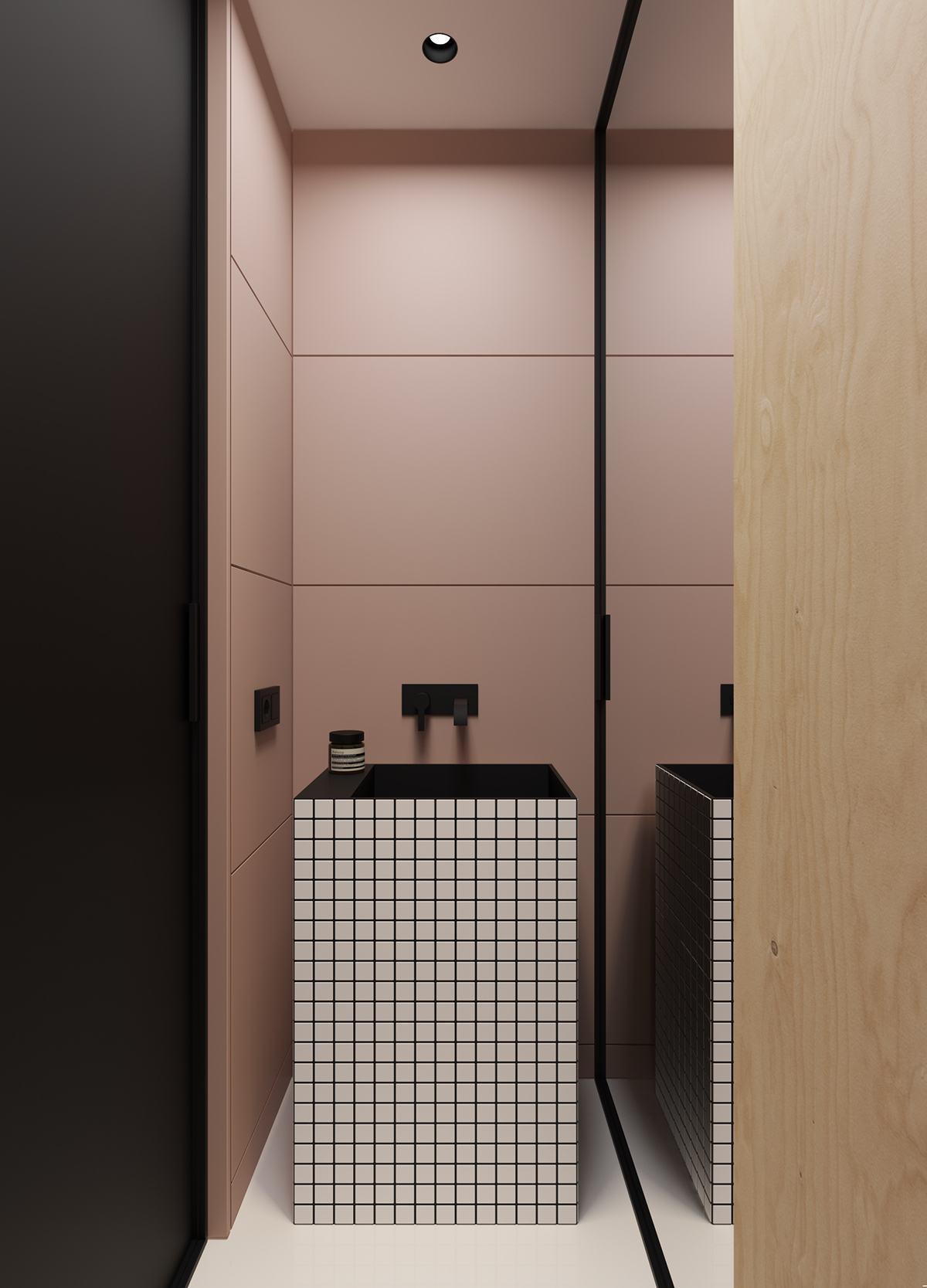 Faça uma bancada diferente em seu banheiro!