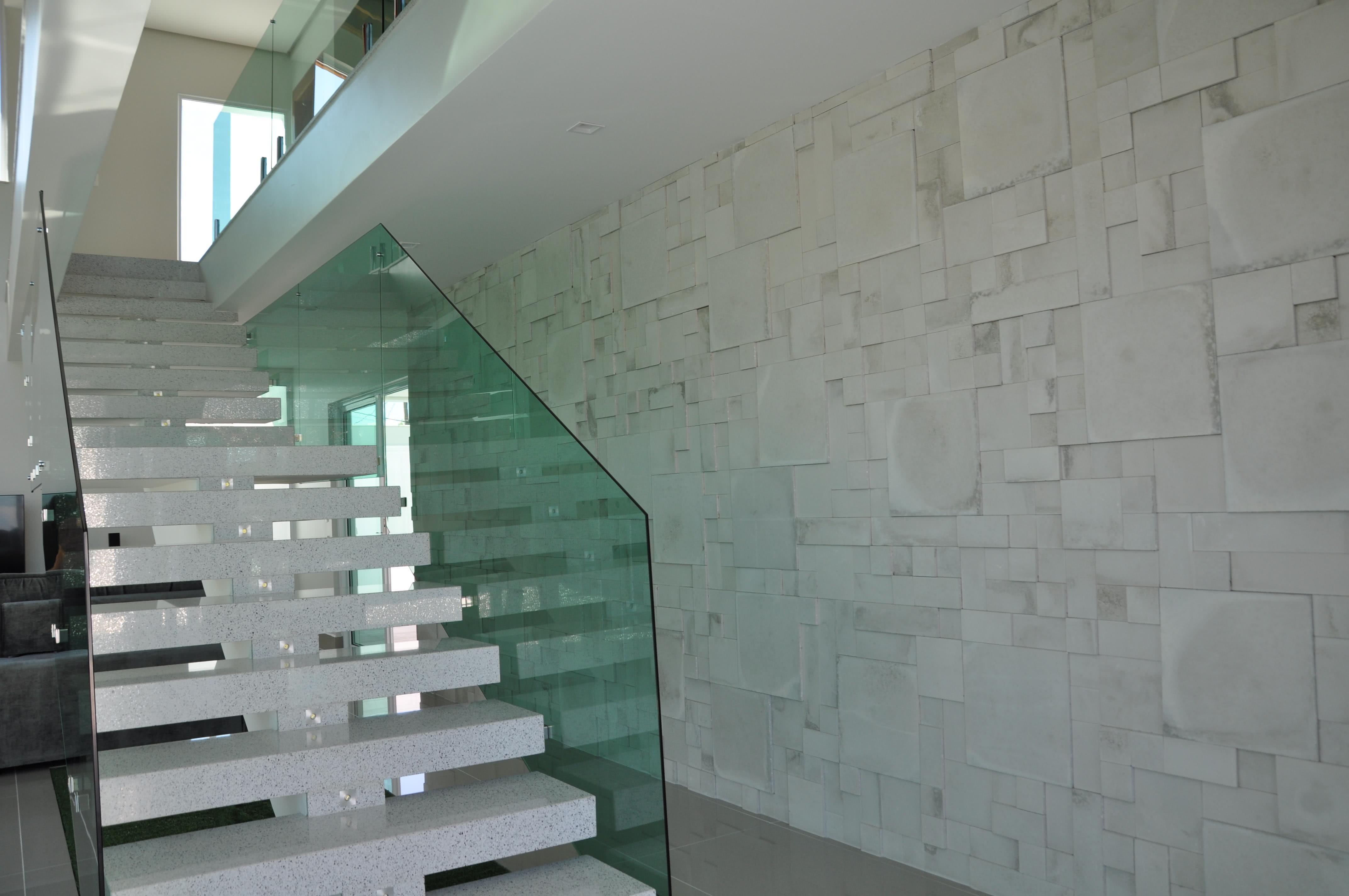 50 escadas de granito elegantes para voc se inspirar for Modelos de pisos de granito