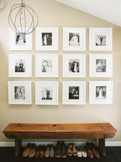 Gallery Wall Ideas Black And White : Ideias de decora??o com quadros e fotografias