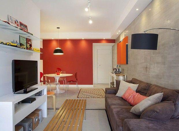 85 ideias de cores para sala de estar fotos lindas for Ambientes modernos interiores
