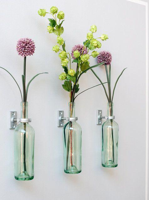 Arranjos De Flores Artificiais on Plastic Reusable Vases