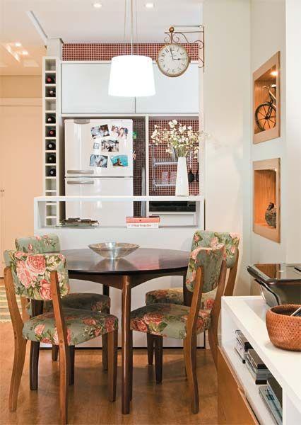 50 salas de jantar pequenas lindas e inspiradoras for Decoracion casa 90m2