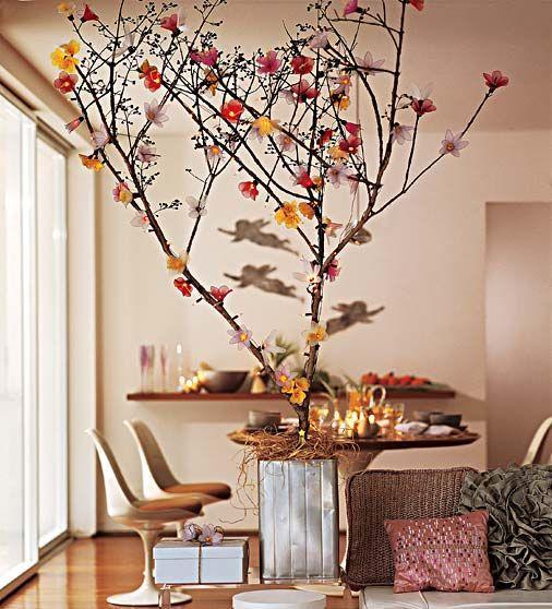 50 arranjos de flores artificiais na decora o - Arbol de navidad artesanal ...