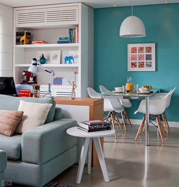Uma sala com uma distribuição perfeita para as suas funções.