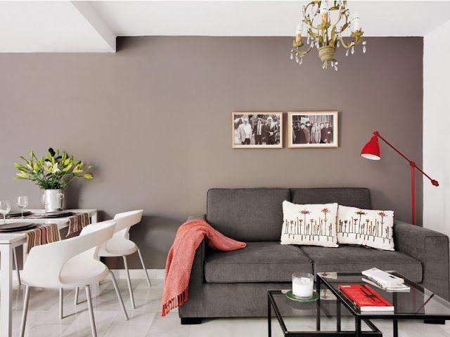85 ideias de cores para sala de estar fotos lindas for Colores para pintar un apartamento moderno
