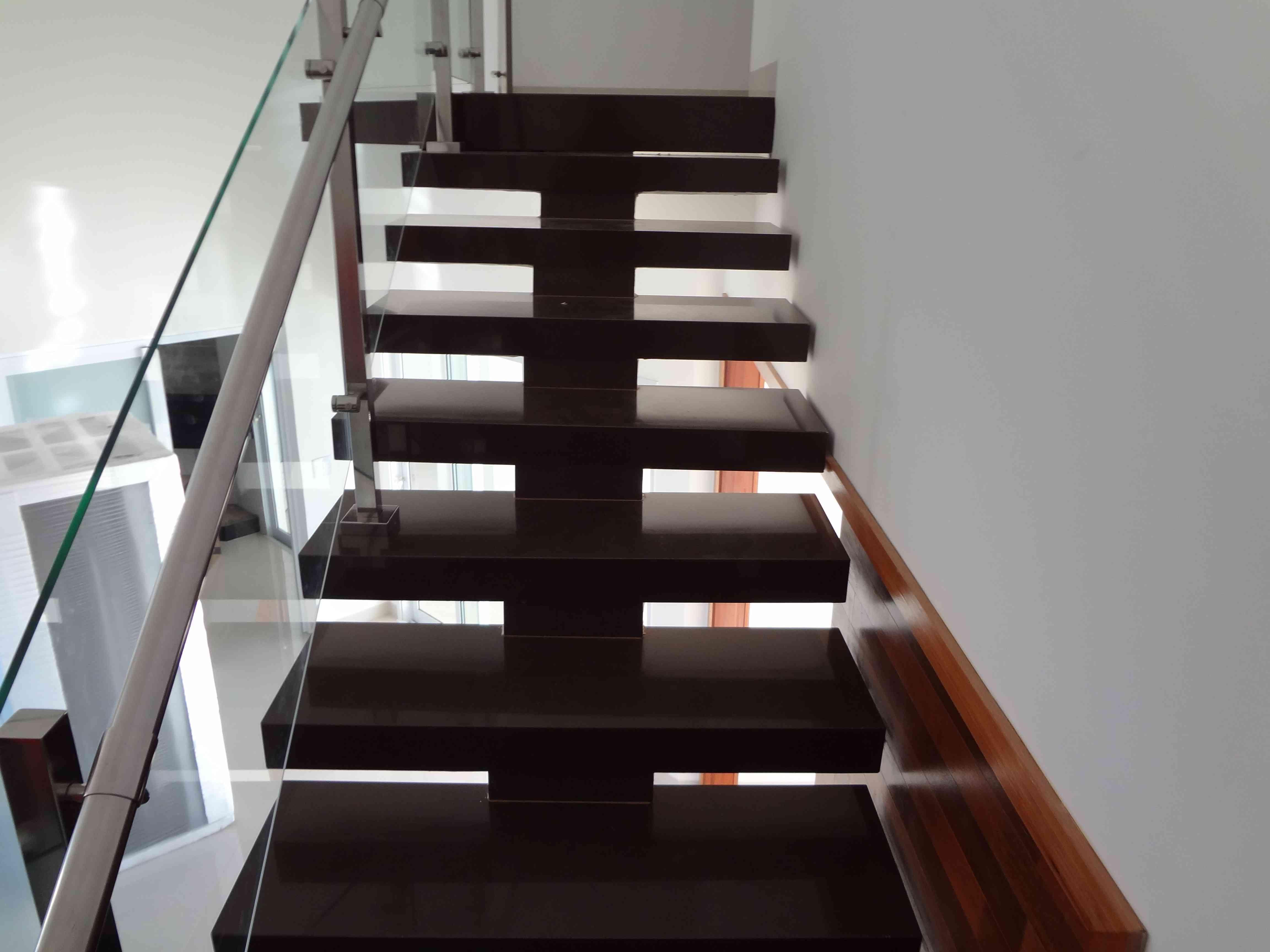 50 Escadas De Granito Elegantes Para Você Se Inspirar