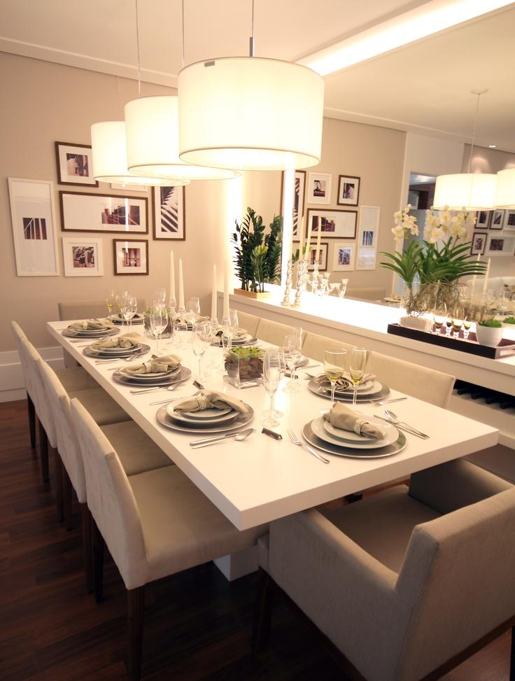 Sala De Jantar Com Espelho ~ 50 Salas de Jantar com Buffet Lindas e Inspiradoras