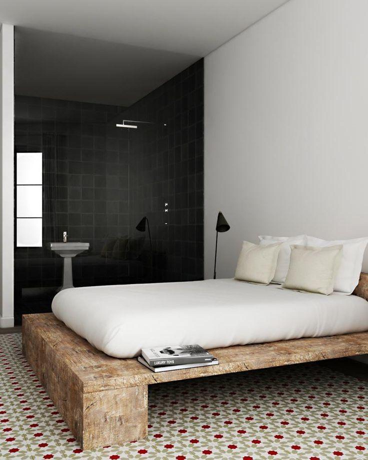 50 modelos de camas de madeira criativas fotos. Black Bedroom Furniture Sets. Home Design Ideas