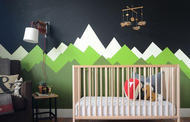 Faça uma arte na parede para trazer mais personalidade ao ambiente!