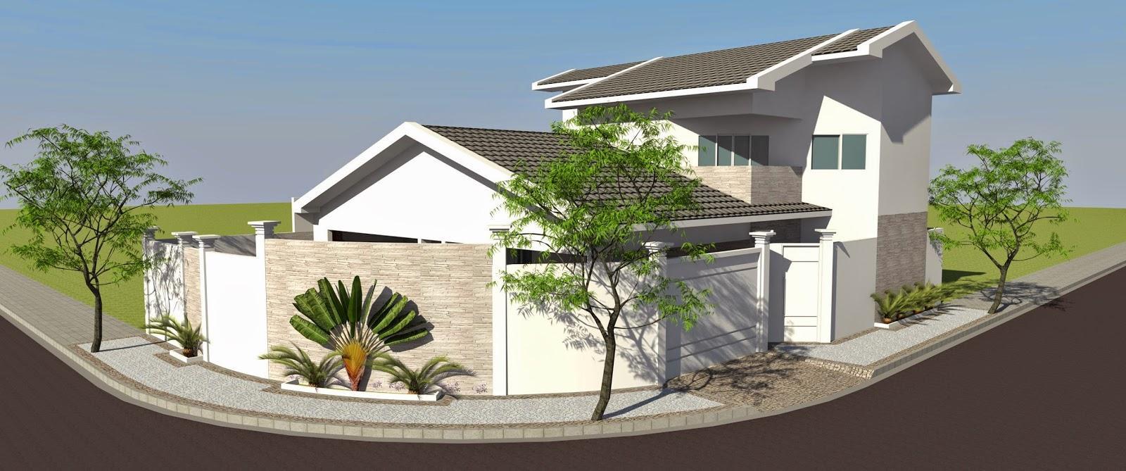 Fotos de fachadas de casas com texturas 100