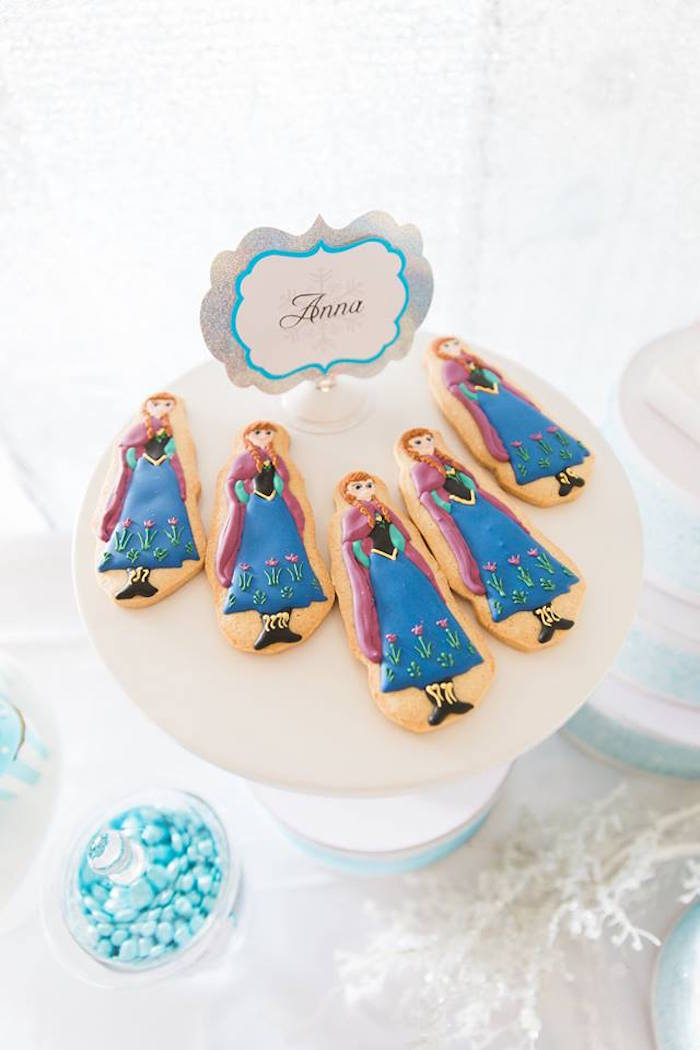 Impossível resistir ao apaixonante biscoito da Anna!