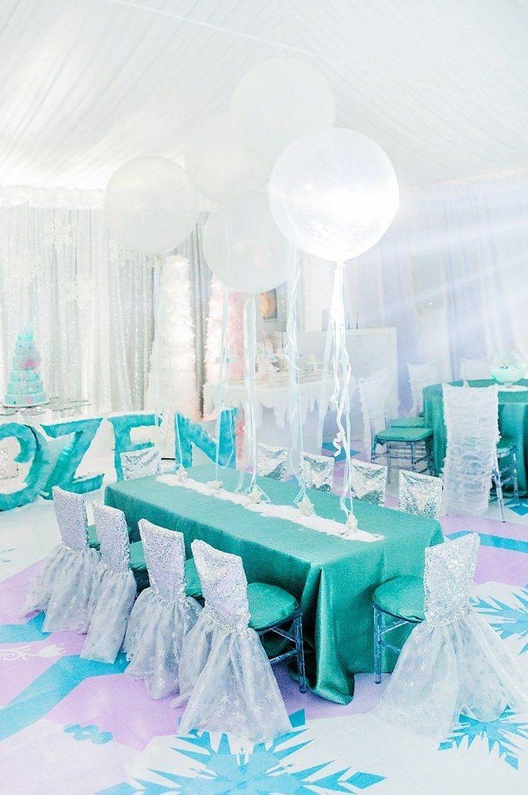 Recrie o cenário da aventura congelante e surpreenda os convidados!