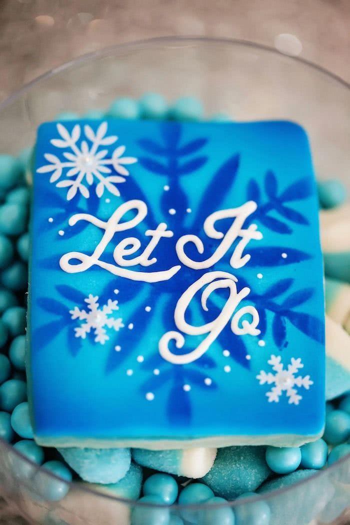 """O hit """"Let it go"""" é fonte de inspiração e conquista a confeitaria."""