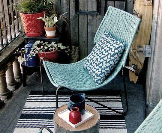 Cadeiras e poltronas para varandas